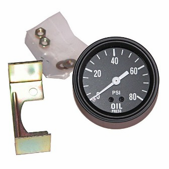 Oil pressure gauge for 1945-49 Jeep CJ-2A