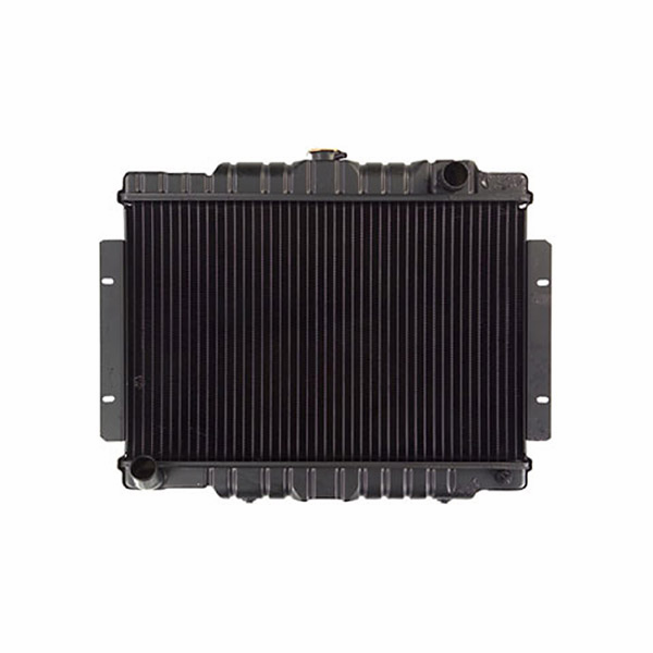 Radiator, fits 1974-80 Jeep CJ with 6 or 8 cyl. engines