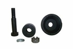 Rear mount support kit bolt & insulators, use with Dana Spicer 18 transfer case
