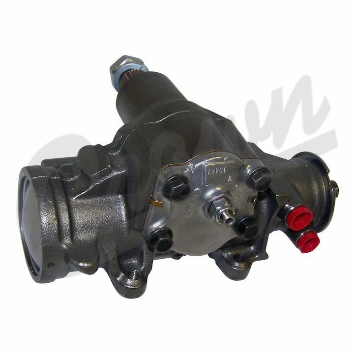 Remanufactured Steering Gear, with power steering, fits 1980-86 Jeep CJ