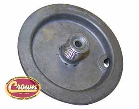 Replacement oil filter cover, (for spin on filters) 1964-71 Willys Jeep CJ-5, CJ-6
