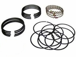 Ring set, piston �standard size, F-134 Hurricane, 1953-71 Willys Jeep CJ-3B, CJ-5, CJ-6