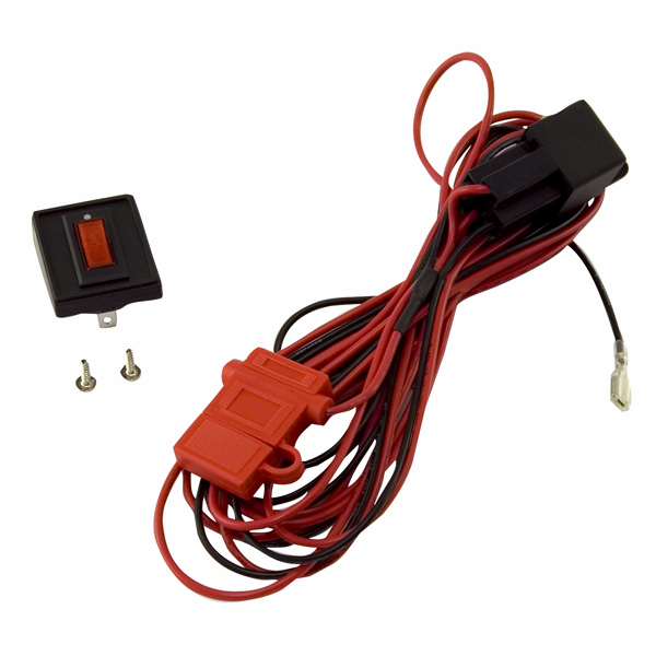 OMIX [ 1521060 ] HID lighting installation harness for a pair of lights