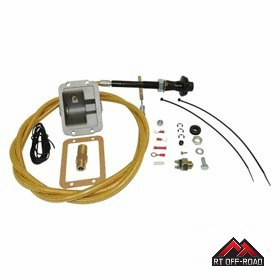 "Secure Disconnect Lock Kit for 1984-1995 Jeep Wrangler YJ, Cherokee w/ 0""-3"" Lift by RT Off-Road"