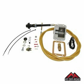 "Secure Disconnect Lock Kit for 1984-1995 Jeep Wrangler YJ, Cherokee w/ 3"" or Higher Lift by RT Off-Road"