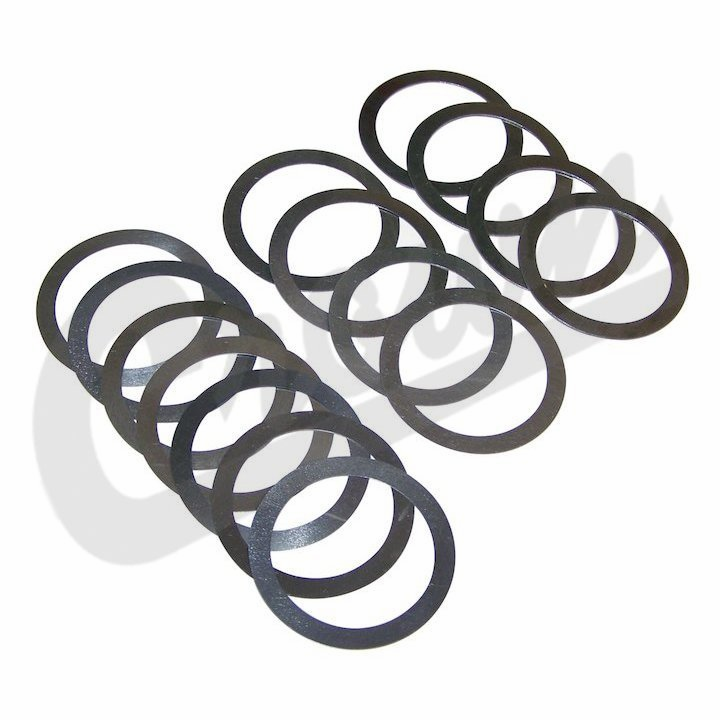 Crown [ J0648061 ] Shim Kit Differential Side Bearings, Dana 25 & 27, fits 1945-1971 Jeep CJ2A, CJ3A, CJ3B, CJ5 & CJ6
