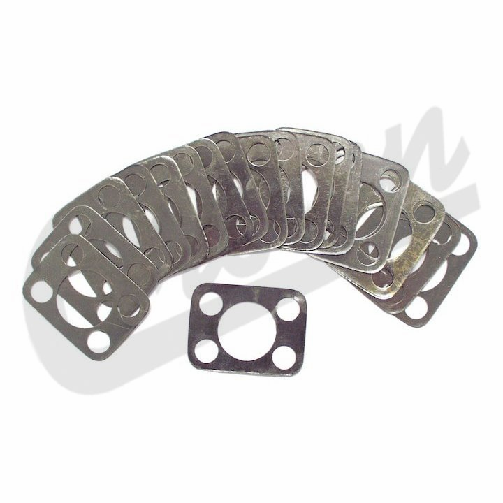 Crown [ JA006882 ] Shim Set, King Pin Bearing, Dana 25 & 27, fits 1945-1971 Jeep CJ2A, CJ3A, CJ3B, CJ5 & CJ6