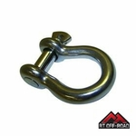 """Stainless Steel D-Ring with 3/4"""" Bolt  by RT Off-Road"""