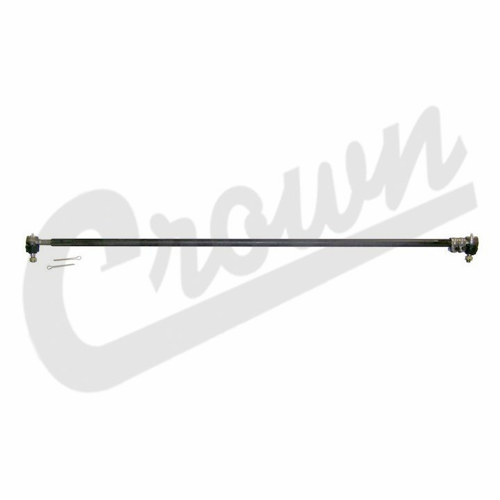 Steering Tie Rod Assembly, Wide Trac, Knuckle to Knuckle, fits 1982-86 Jeep CJ-7, CJ-8
