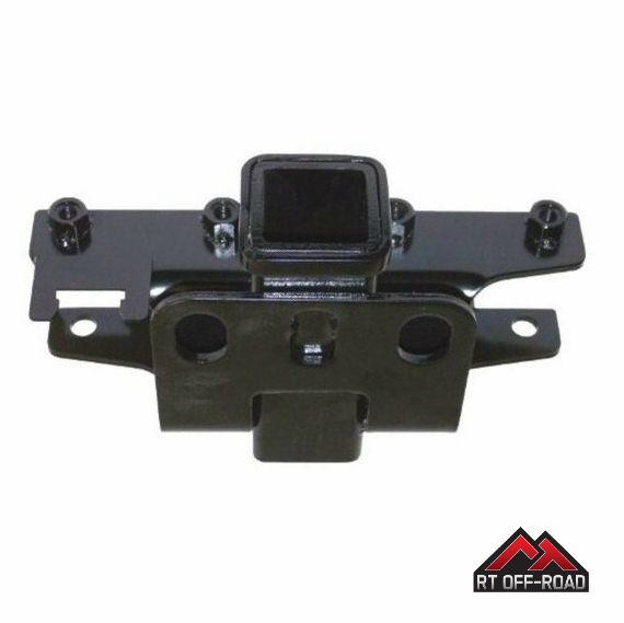 "Trailer Hitch With 2"" Receiver, 2007-2014 Jeep Wrangler JK by RT Off-Road"