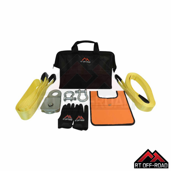 Vehicle Off-Road Recovery Kit by RT Off-Road