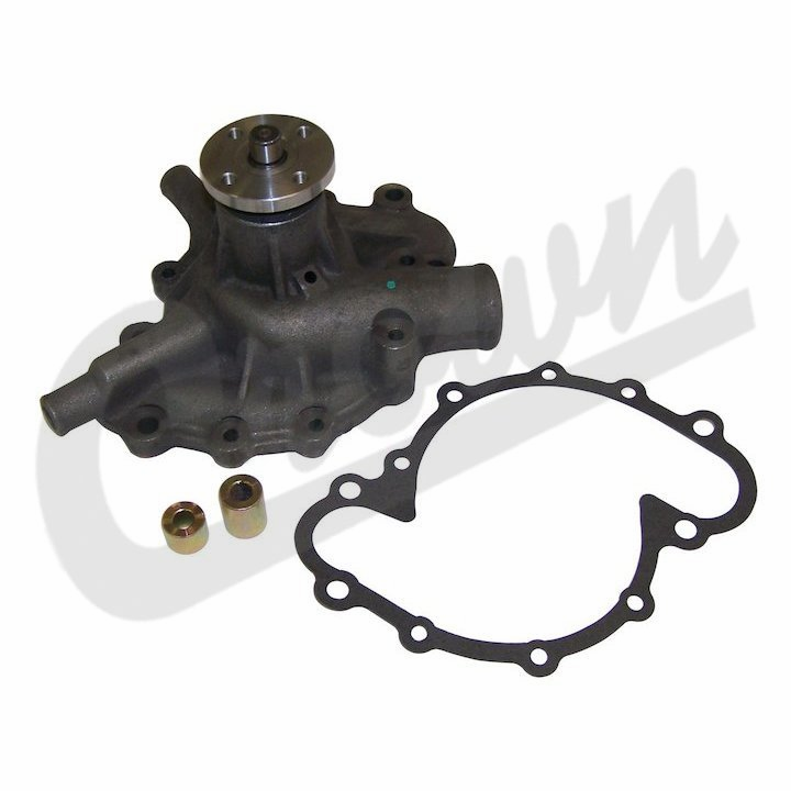 Water pump, fits 1973-83 Jeep CJ with 304 8 cylinder engine