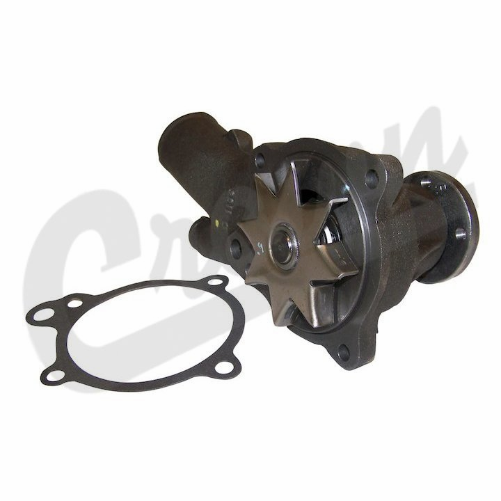 Water pump, fits 1980-83 Jeep CJ with 151 GM 4 cylinder engine