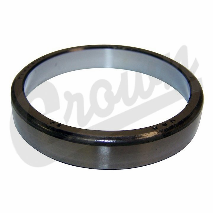Crown [ J0052943 ] Wheel Bearing Cup, Inner or Outer, Dana 25, fits 1945-1965 Jeep CJ2A, CJ3A, CJ3B & CJ5