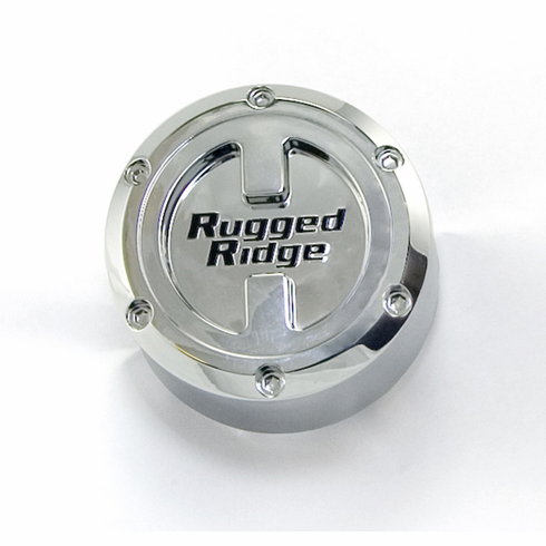Wheel Center Cap, for 17-Inch x 9-Inch Rugged Ridge Wheels by Rugged Ridge