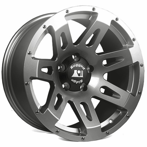 XHD Wheel, Gun Metal, 18x9 by Rugged Ridge