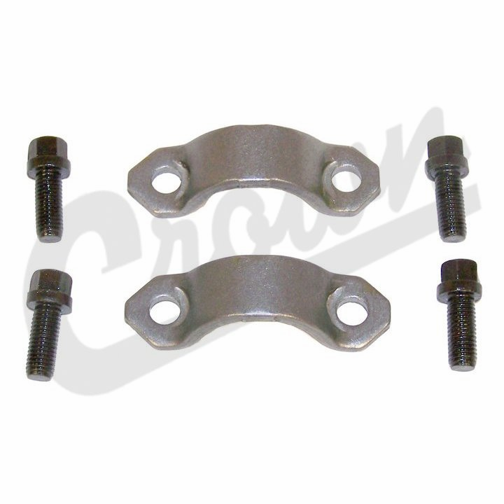 Yoke Strap & Bolt Kit, fits 1976-86 Jeep CJ-5, CJ-7 & CJ-8 with Hex Head Bolts