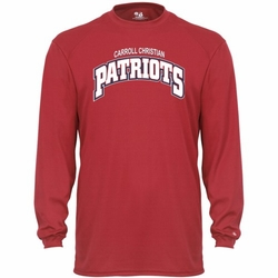 Patriots B-Dry Long Sleeve Tee