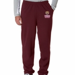 CCSO Maroon Open Bottom Sweatpants