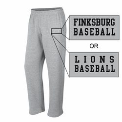 Finksburg Lions Baseball Sweatpants