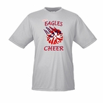FSK Jr. Eagles Cheer Moisture Wicking Tee