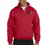 Maryland Stars 8 oz. Quarter-Zip Cadet Collar Sweatshirt