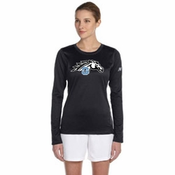 Mustang New Balance Ladies' Long Sleeve Performance T-Shirt