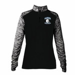 Mustangs Ladies' Blend 1/4 Zip Jacket