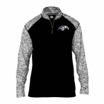 Mustangs Mens' Blend 1/4 Zip Jacket