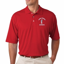 Patriots Men's Moisture Wicking Polo