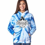Royal Tie Dye WJGSL Hooded Sweatshirt