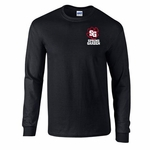 Spring Garden Elementary Long Sleeve Black Shirt