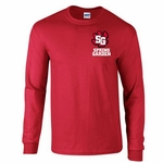 Spring Garden Elementary Long Sleeve Red Shirt