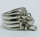 Good Charma Love Heart Sterling Silver Charm Ring