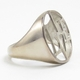 Good Charma Ring Live Sterling Silver