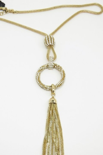 necklace d products crystal r rj j tone graziano geometric drop openwork