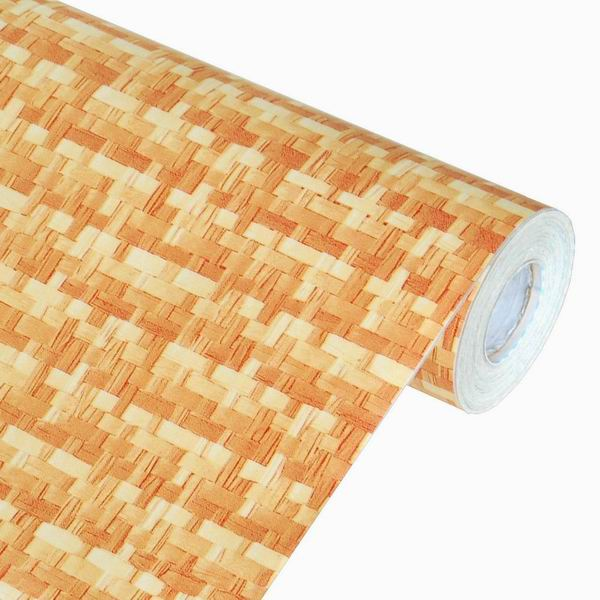 Vintage pattern self adhesive wallpaper home decor roll for Pre adhesive wallpaper