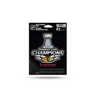 Blackhawks 2015 Stanley Cup Champions Die Cut Decal