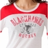 Blackhawks Ladies Hat Trick LS Tee