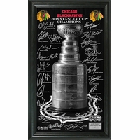 Blackhawks 2015 Stanley Cup Champions Trophy Photo