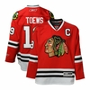 Blackhawks #19 Toews Premier Jersey - Red