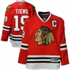 Blackhawks #19 Toews Youth Premier Jersey - Red