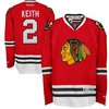 Blackhawks #2 Keith Premier Jersey - Red
