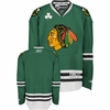 Blackhawks St. Patty's Kelly Green Premier Jersey
