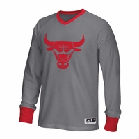 Bulls Christmas Day On-Court Long Sleeve Shooting Shirt