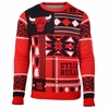 Bulls Patches Ugly Sweater