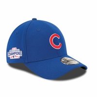 Cubs WS16 Champs Patch FlexFit Hat