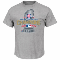 Cubs Youth WS16 Champs Locker Room Tee