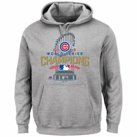 Cubs WS16 Champs Locker Room Hood