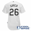 Garcia #26 Cool Base Home Youth Replica